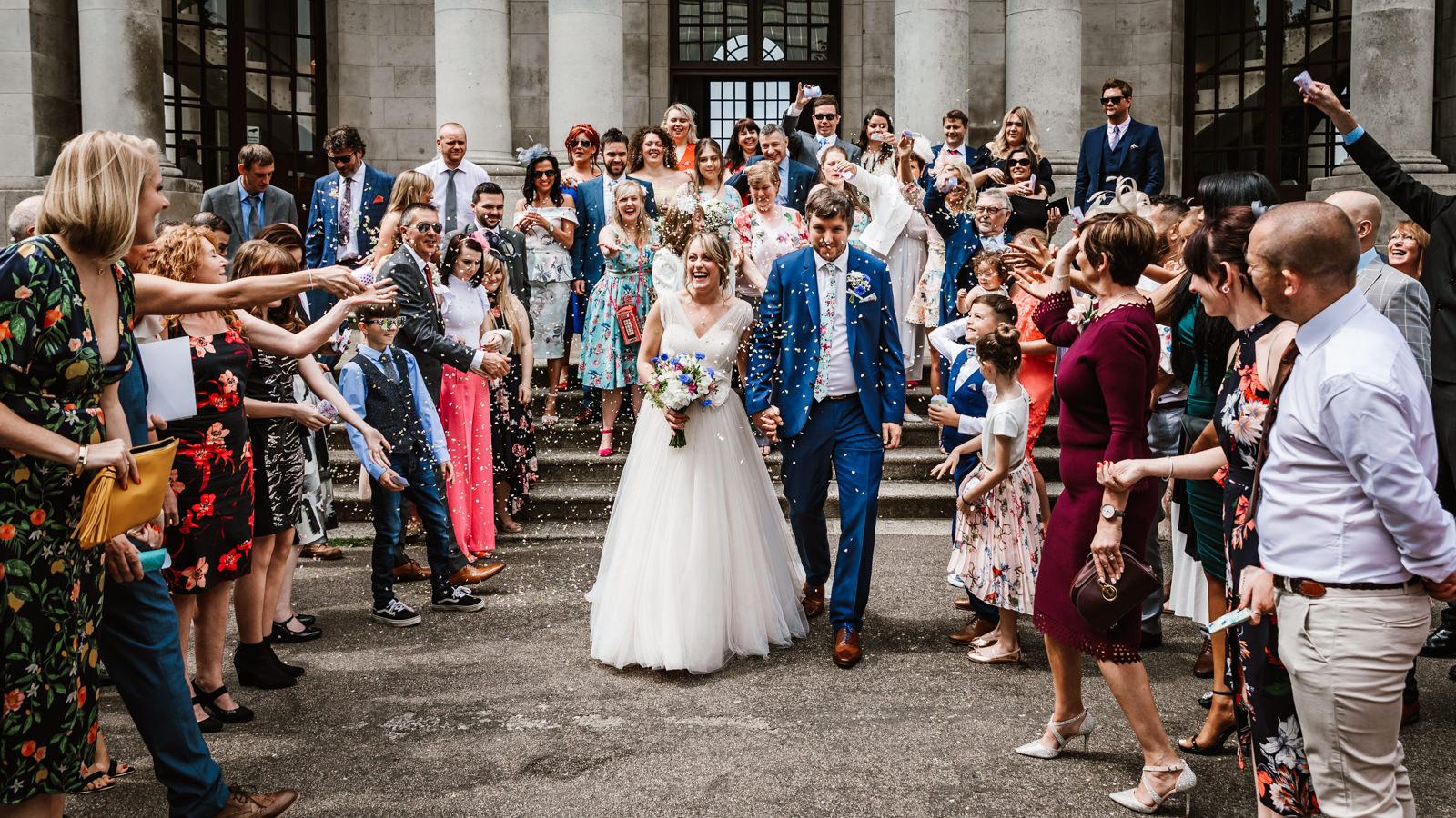 Ashton memorial wedding photography
