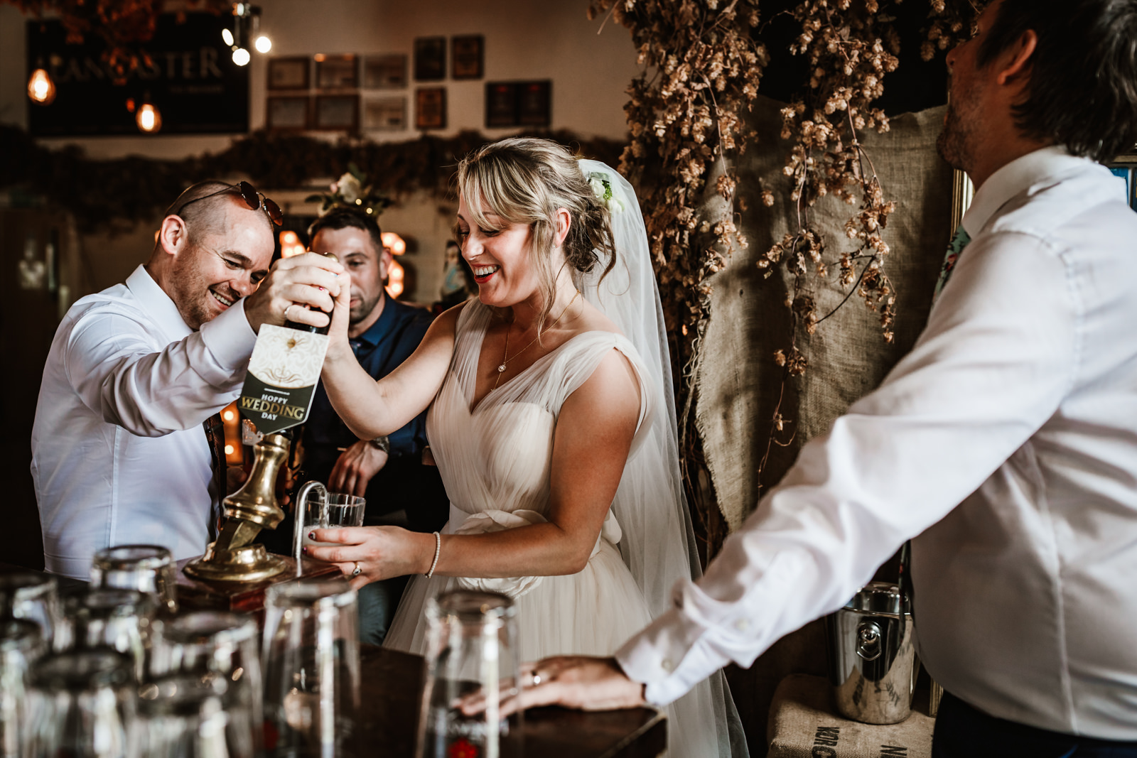 Lancaster Brewery Wedding