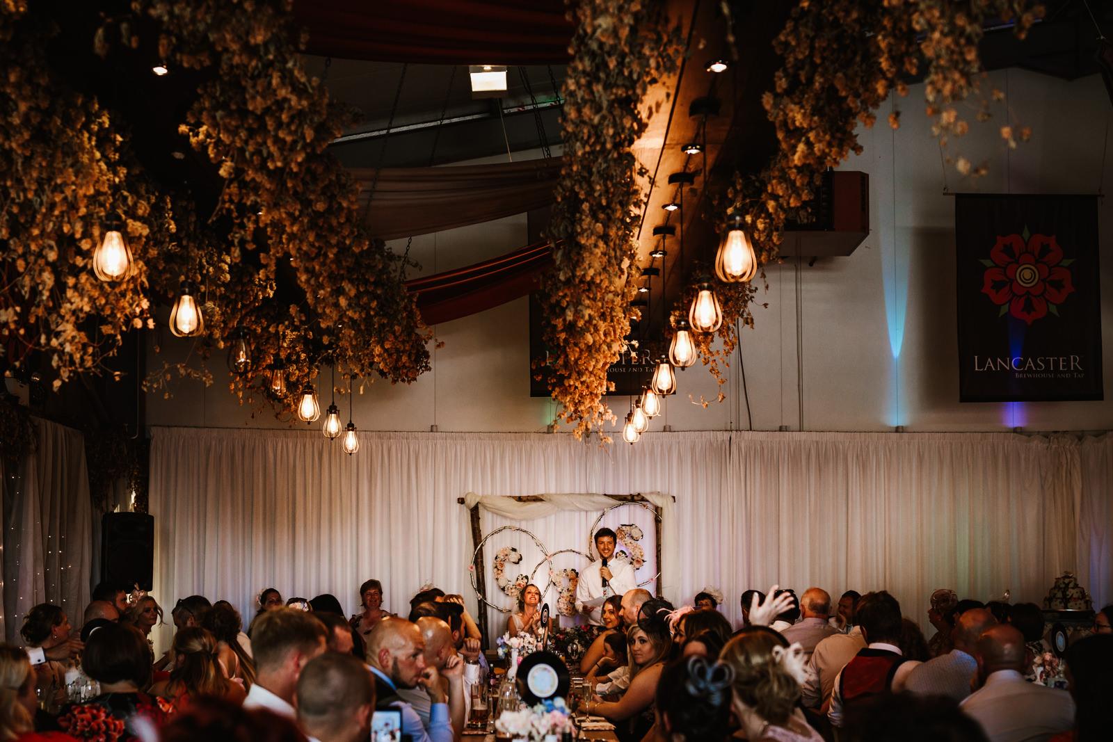 Lancaster brewery wedding photographer