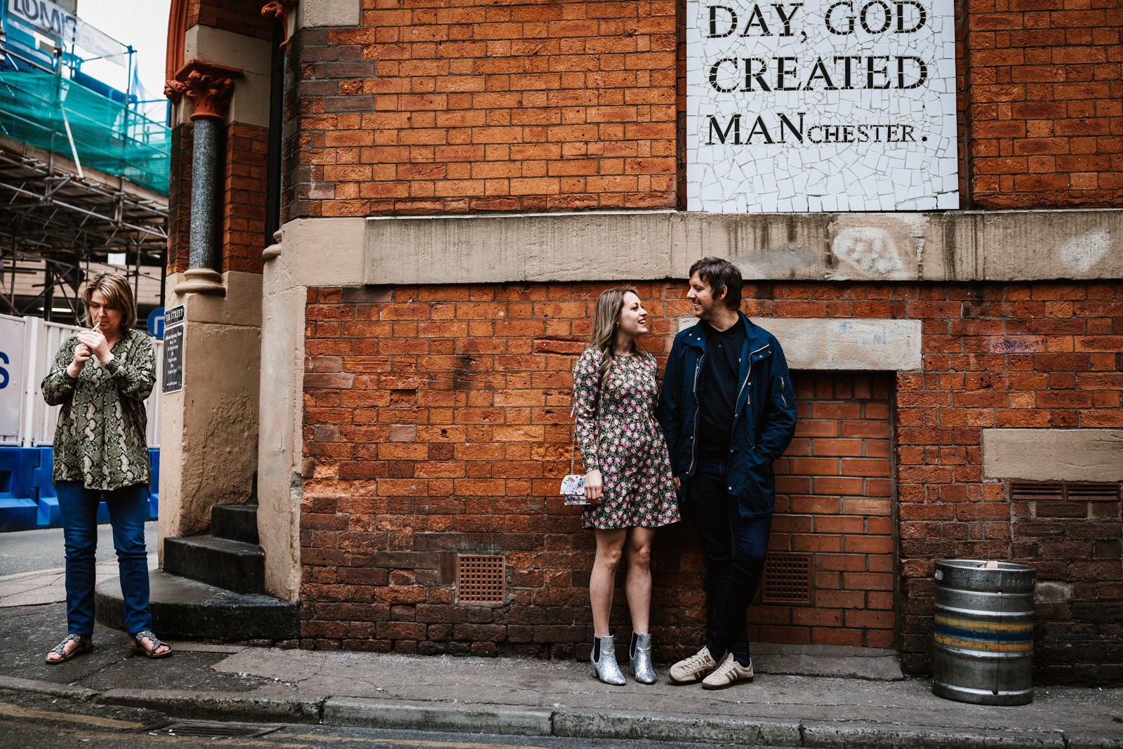 God created Manchester