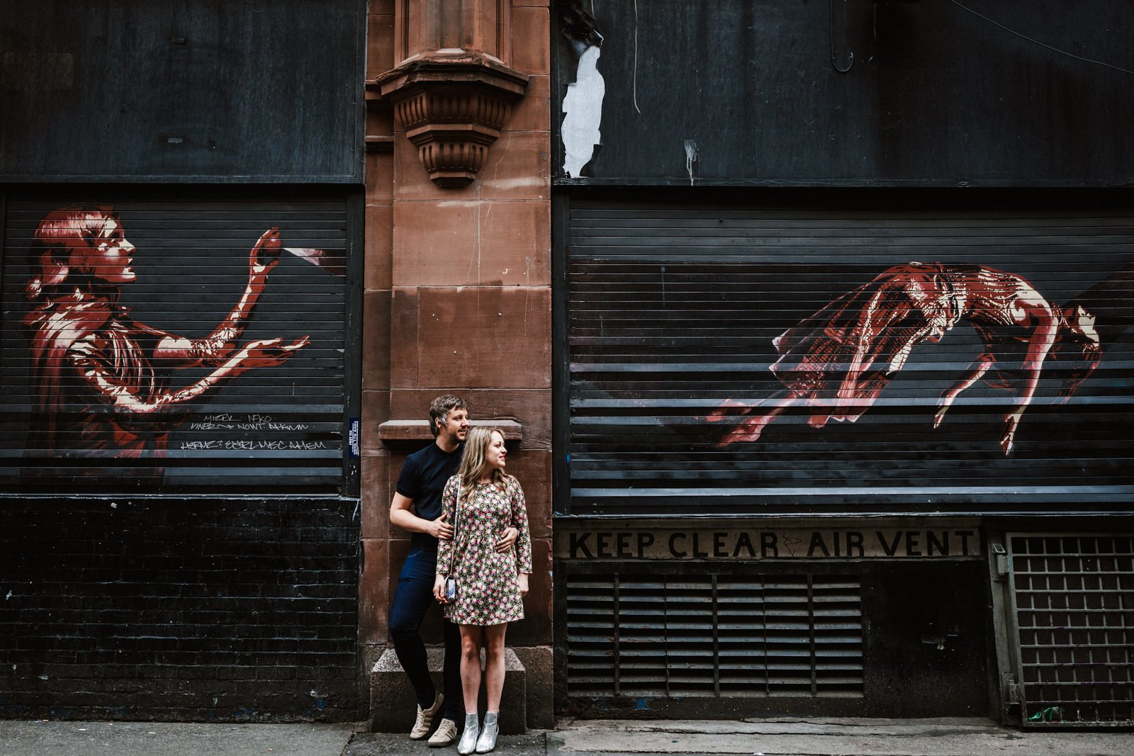 Couple shoot in Manchester