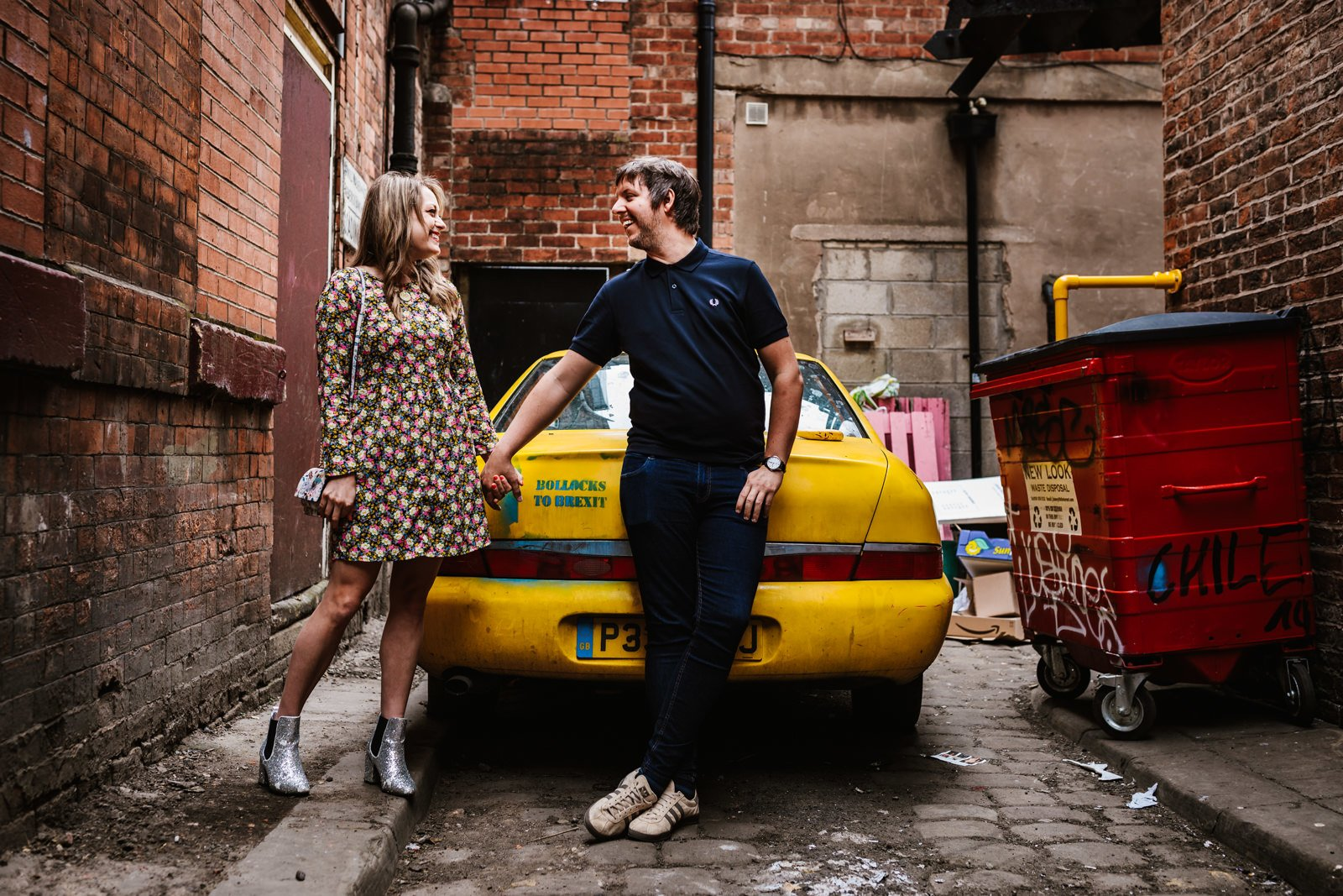 Northern quarter engagement session