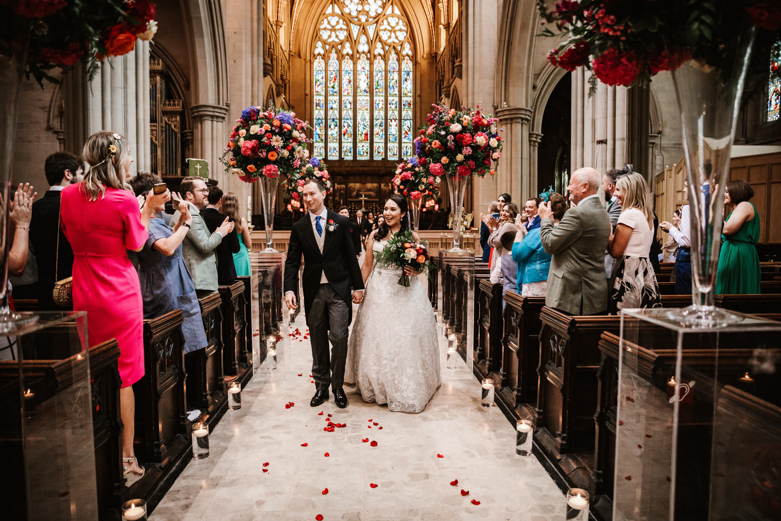 Lancashire church wedding