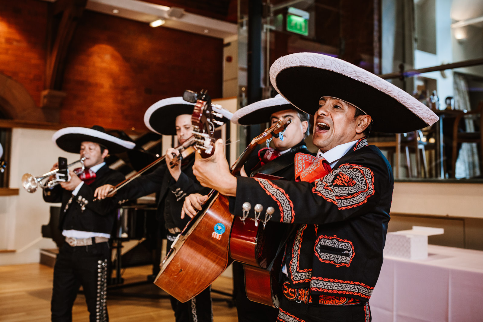 Mariachi band wedding