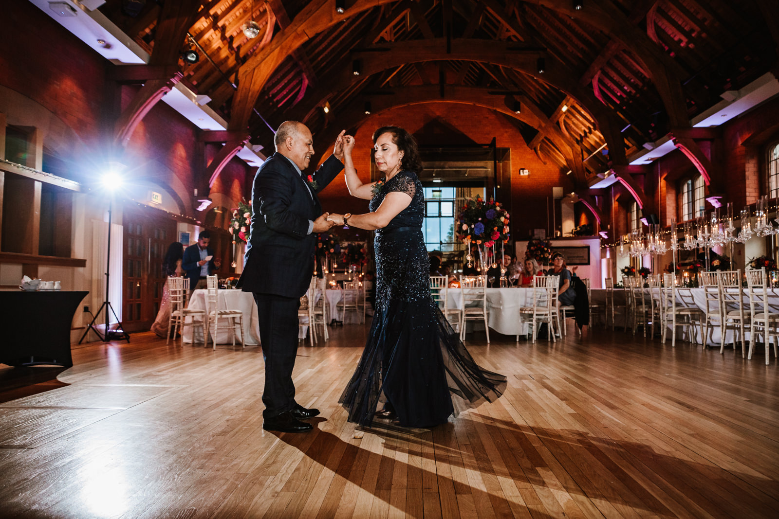 Mum and dad dance