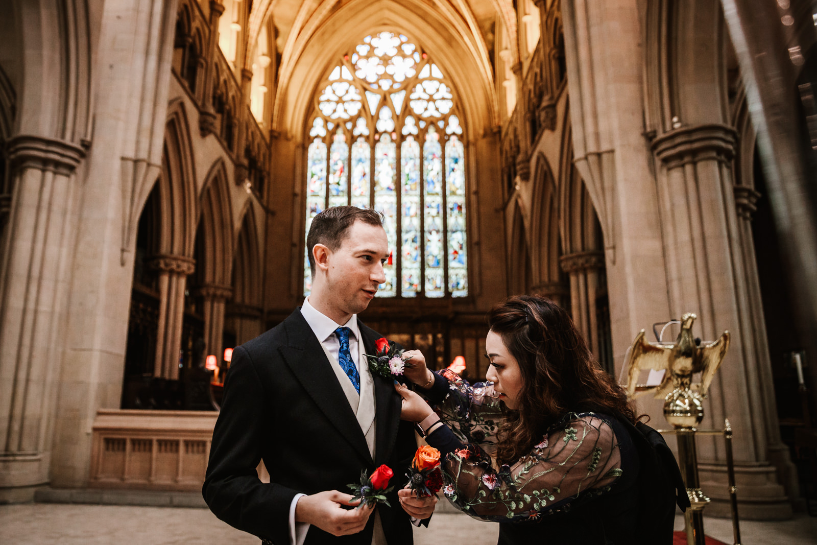 Bolton parish curch wedding