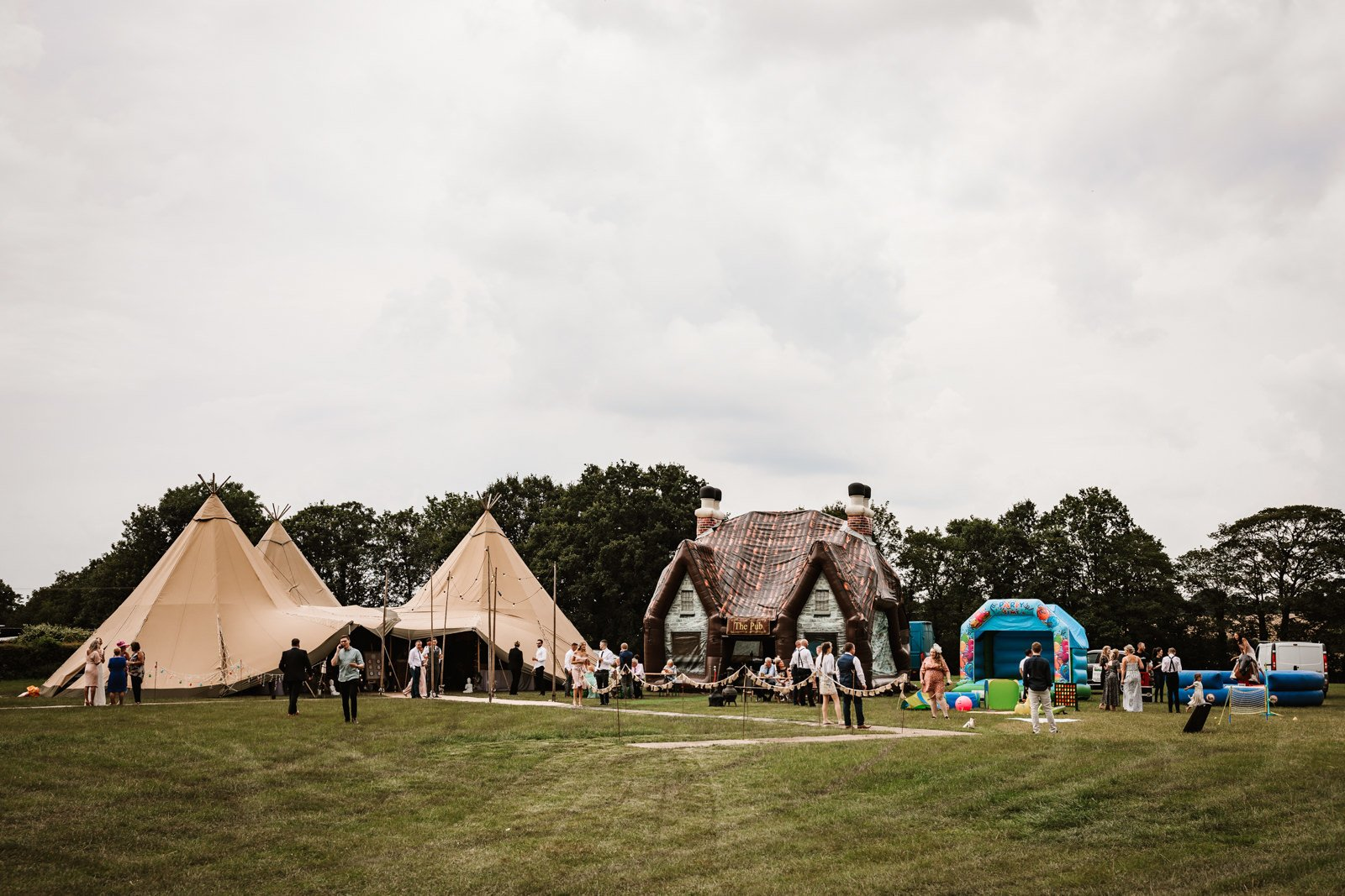 Tipi wedding Cheshire