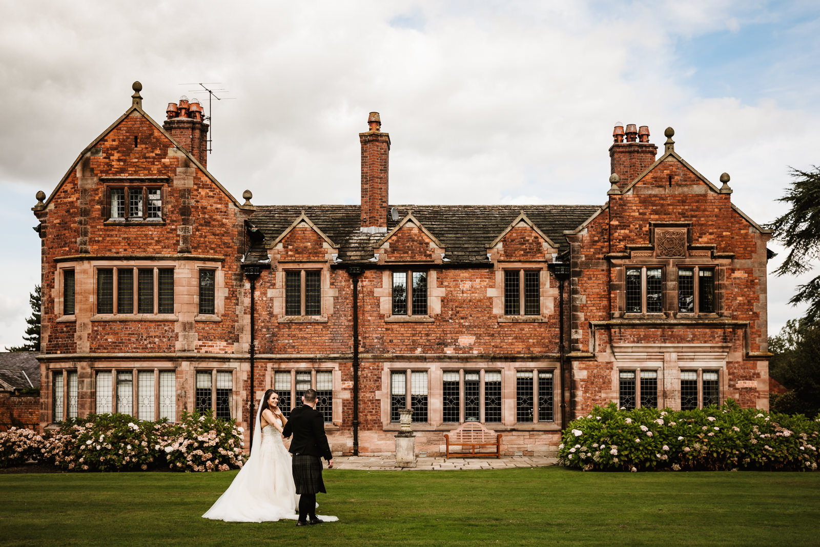 Wedding photography Colshaw Hall