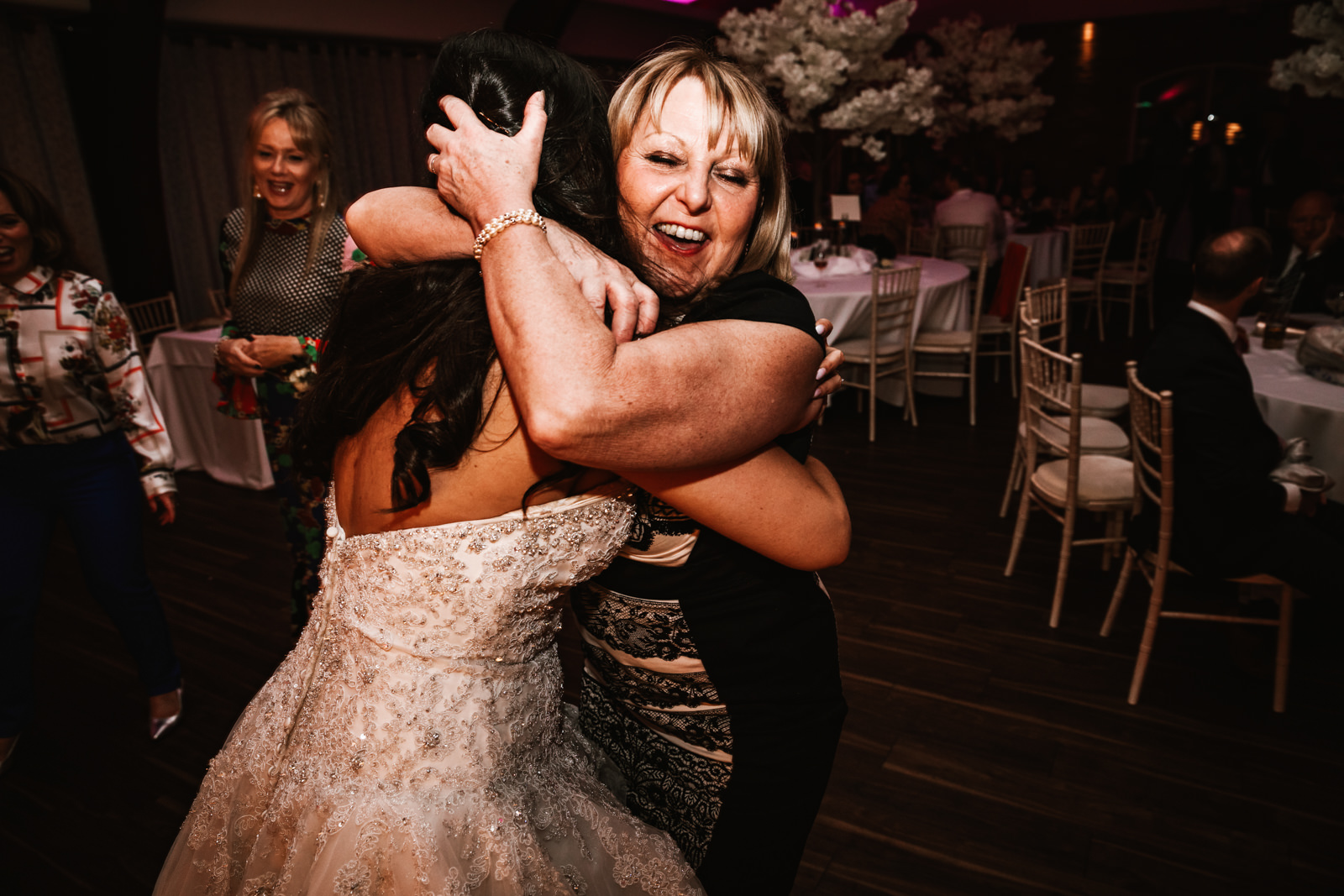 Hugs on the dance floor