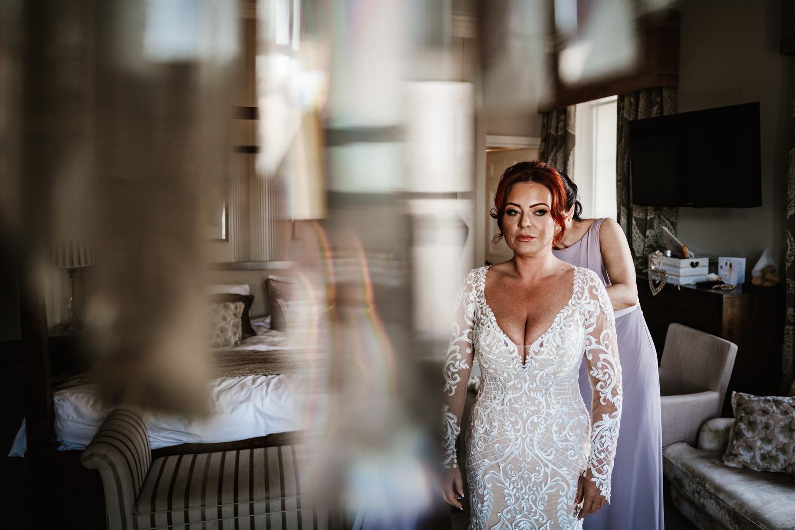 Bride Belsfield hotel