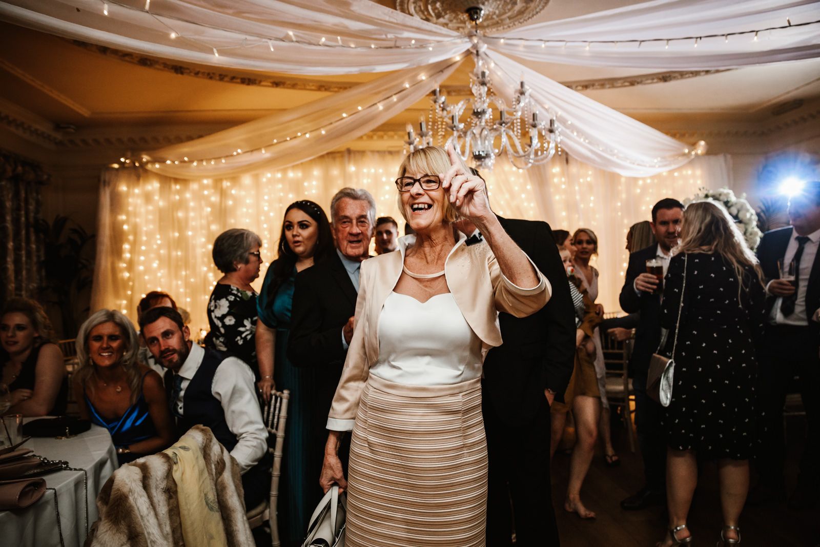 Mother of the bride dancing
