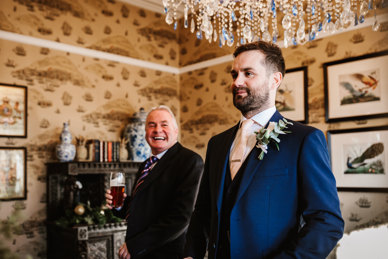 Groom with his guest