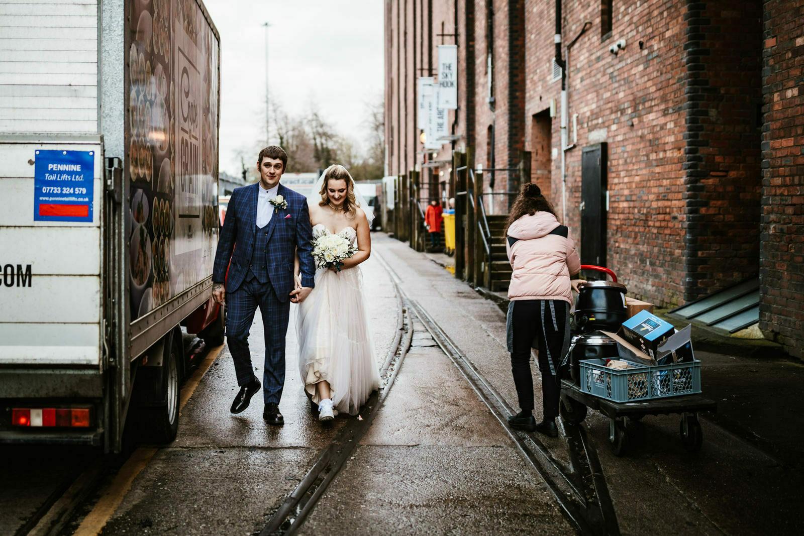 Victoria Warehouse weddings