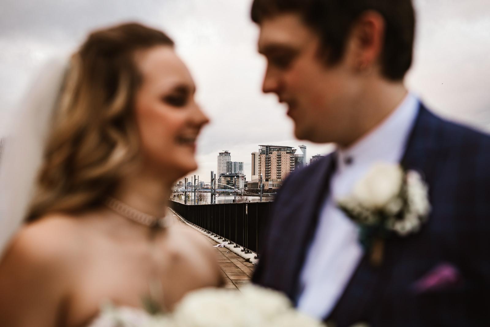 Urban wedding Manchester