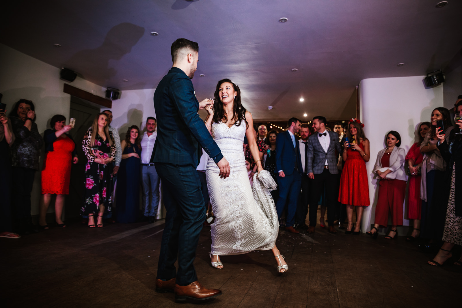 First dance at The Ashes Barns